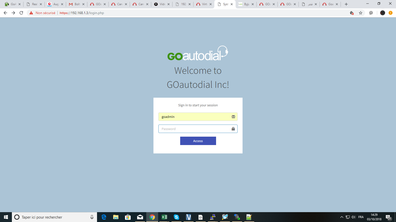 GOautodial 4 (Pre-Release 20180929-0618) ISO Now Available
